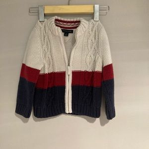 🦊5/$15 TOMMY HILFIGER Kids Knitted sweater 3T